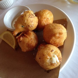 Blue Crab Beignets, photo courtesy of Blake Killian, instagram @blakemakes